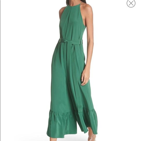 8c496b7ee77 Tibi Ruffle Silk Jumpsuit. Listing Price   220